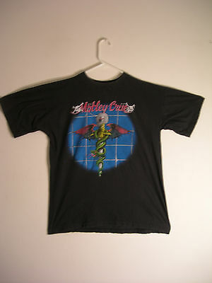 Motley Crue Concert Tour T-Shirt 1989 Dr Feelgood European Tour
