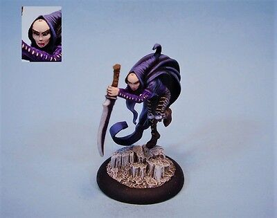Confrontation painted miniature female Shanys (30 day listing)