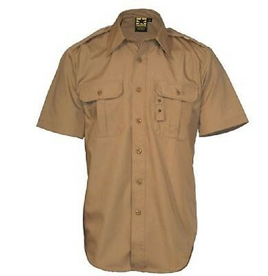 US PROPPER Law Enforcement Tactical Lightweight short Sleeve Hemd coyote L