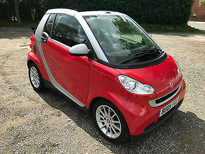 2009 Smart Fortwo Passion Mhd Auto Silver/red Full Mot