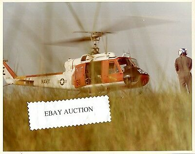HT-18 VIGILANT EAGLES BELL UH-1 HUEY US NAVY Helicopter Training Squadron Photo