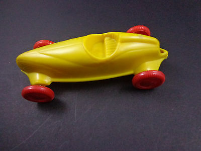 PLANTERS PEANUT-Race Car-vintage plastic 1960s' powered by balloon/not included