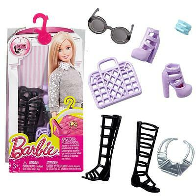 Barbie - Boots, Handbag, Jewelry - Accessoires Set for barbie Doll DHC53