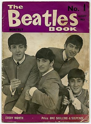 The Beatles Monthly Book 1963 Number 1 Original Magazine