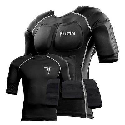 The TITIN Force Weighted Shirt System Improves Speed Endurance Strength Hot/Cold