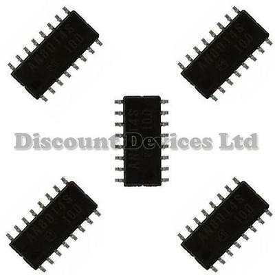 5x LM324 SMD Quad Op/Operational Amp/Amplifier IC