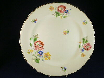 Midwinter Floral Dinner Plate