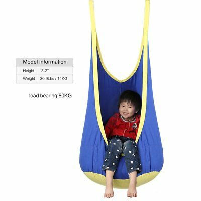 Indoor/Outdoor Games Kids Toy Gift Hammock Swing Pod Swing with inflatable seat