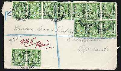 BECHUANALAND: (13910) MAUN cancel/cover front