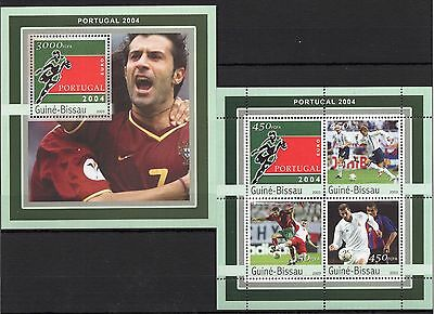 Guinea-Bissau 2003 - Football/Portugal 2004 Cup/Sport...  SS/MS MNH** (BH)