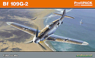 EDUARD 82116 WWII German Bf109G-2 in 1:48 ProfiPACK!!