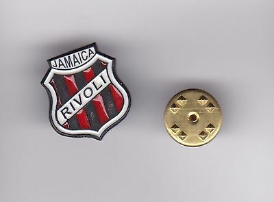 Rivoli United ( Jamaica ) - lapel badge butterfly fitting