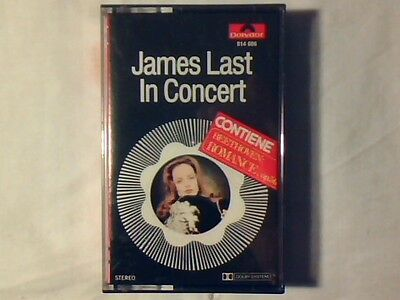 JAMES LAST In concert mc cassette k7 ITALY COME NUOVA LIKE NEW!!!