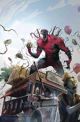 Edge Of Venomverse #5 (Of 5) Preorder Near Mint First Print Bagged And Boarded