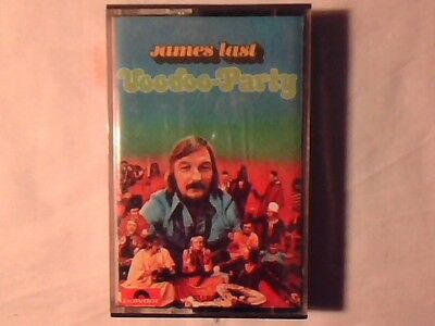 JAMES LAST Voodoo-party mc cassette k7 ITALY RARISSIMA COME NUOVA LIKE NEW!!!