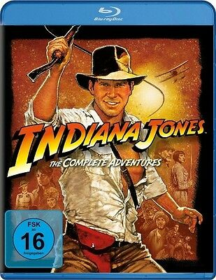 Indiana Jones - The Complete Adventures (Blu-ray, 4 Discs) Harrison Ford
