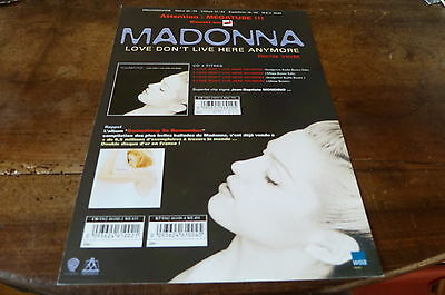 MADONNA - Plan média / Press kit !!! LOVE DON'T LIVE HERE ANYMORE !!!