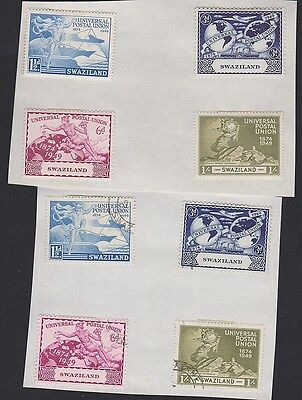 SWAZILAND 50-53 UPU  mint and used set