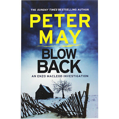 Blowback by Peter May (Paperback), Fiction Books, Brand New
