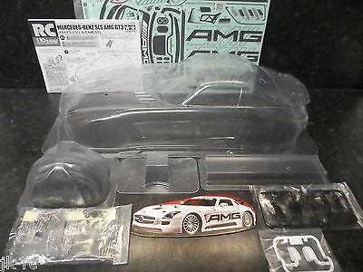 New Tamiya Mercedes-Benz SLS AMG GT3 Body Parts Only For 1/10 190 TT02/TT01/TL01