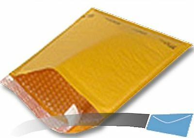 50 6.5x10 Kraft Bubble Mailer CD Envelope Shipping Sealed Air Paper Mailing
