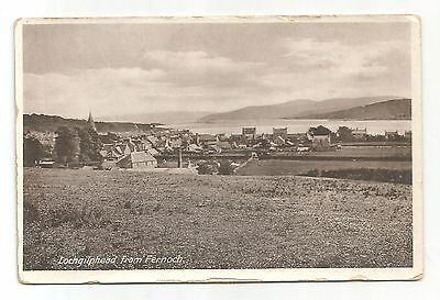 re scotland scottish postcard lochgilphead