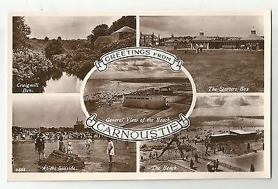 re scotland scottish postcard carnoustie