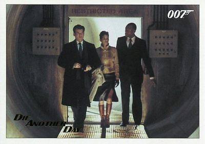 Die Another Day Gold Stamped Base Card #55 James Bond Archives 2017 Final Ed
