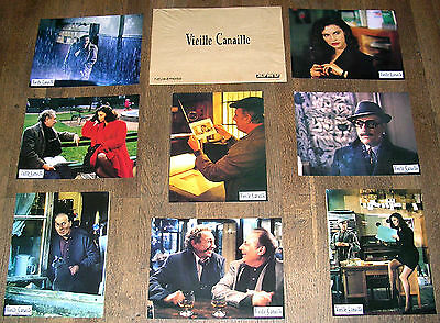 VIEILLE CANAILLE - Michel Serrault - JEU 8 PHOTOS D'ÉPOQUE LOBBY CARDS (1992)