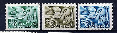 Slovakia (1363)  1942 European Postal Congress unmounted mint Sg86-8