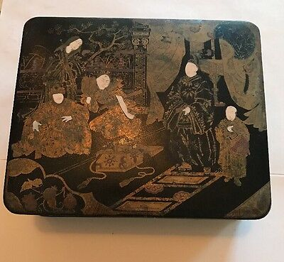 Early Chinese Lacquered Box