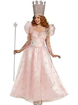Adult Deluxe Glinda Wizard Of Oz Fairy Godmother the Good Witch Costume Standard