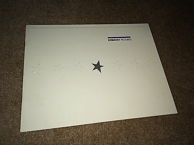 EMBASSY PICTURES 1982 Movie Promo CAMPAIGN Book Rolling Stones Spinal Tap