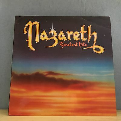 NAZARETH Greatest Hits 1982 UK Vinyl LP EXCELLENT CONDITION  best of  A