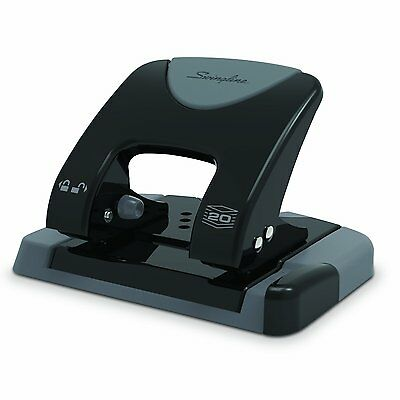 Swingline SmartTouch 2-Hole Punch, Reduced Effort, 20 Sheet Capacity A7074135