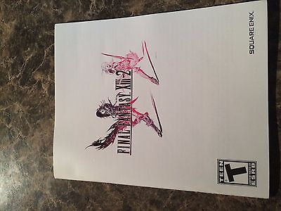 Final Fantasy Xiii-2  - Playstation 3 - Instruction Manual Only