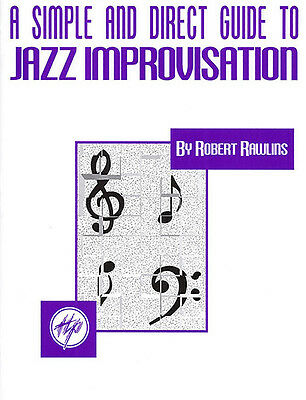 A Simple and Direct Guide Jazz Improvisation Music Hal Leonard Book NEW