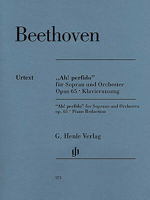 Beethoven Ah! Perfido Op 65 Soprano & Piano Henle Urtext Sheet Music Book NEW