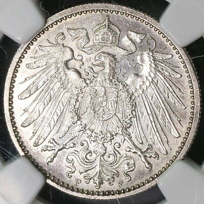 1900-F NGC MS 63 GERMANY Silver 1 Mark Coin Top POP 1/0 (16111512C)