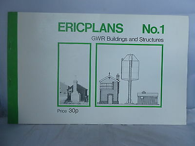GWR Buildings and Structures - Ericplans No. 1 - Illustrated
