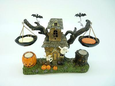 Yankee Candle Co. Halloween House Candle Hanging Tart Burner Unused (h2926)