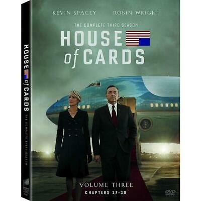 House of Cards: The Complete Third Season (DVD, 2015, 4-Disc Set)