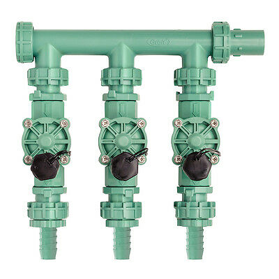 Orbit Pre-Assembled 3 Valve Irrigation Manifold System - Sprinkler Valves, 91207