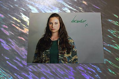 Lucy Carless (Humans) Signed Photo Paper