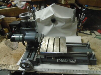 MACHINIST TOOL LATHE Machinist Westhoff High Speed Horizontal Drill
