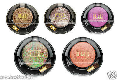 MILANI Rich Color BAKED WET/DRY Intense Pigment EYE SHADOW New! *YOU CHOOSE*