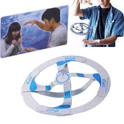 Cool Mystery UFO Floating Flying Disk Hovers Saucer Magic Trick Kids Toys