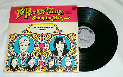 THE PARTRIDGE FAMILY Shopping Bag  1972 Bell Record