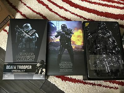EMPTY BOX ONLY!!!! Hot Toys STAR WARS ROGUE ONE DEATH TROOPER SPECIALIST