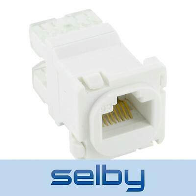 Punch Down CAT6 RJ45 Network Insert Mech Connector suits Clipsal Wall Plates